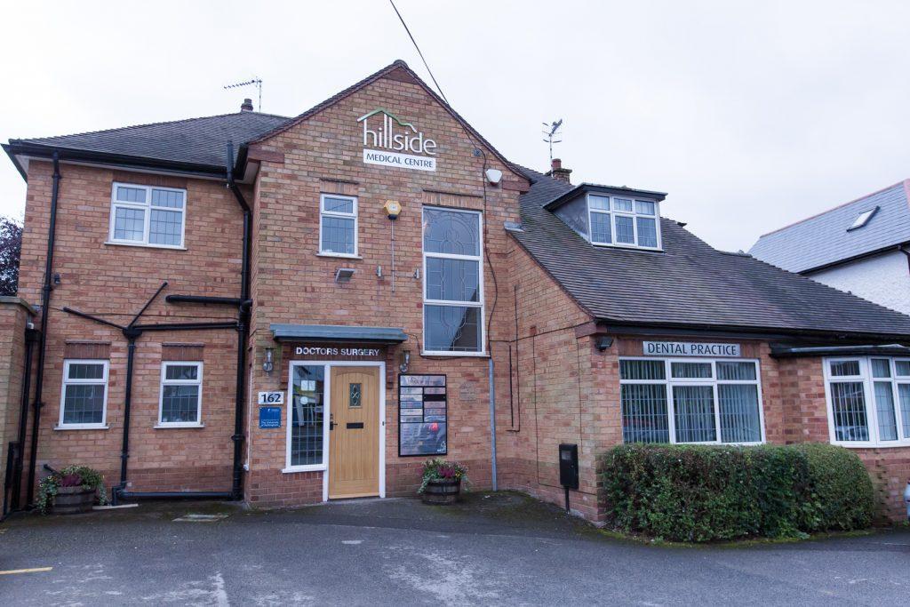 Hillside Hair Clinic in Nottingham - Exterior