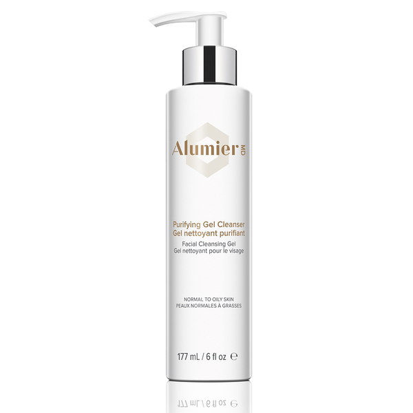 Purifying gel cleanser with pump